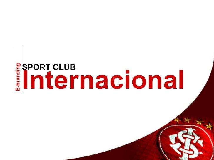 Análise E-branding :: Inter de Porto Alegre