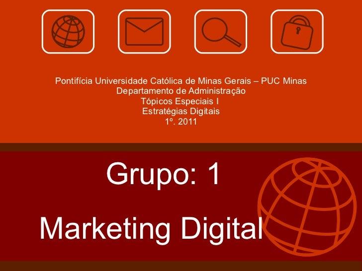 Apresentação Marketing Digital