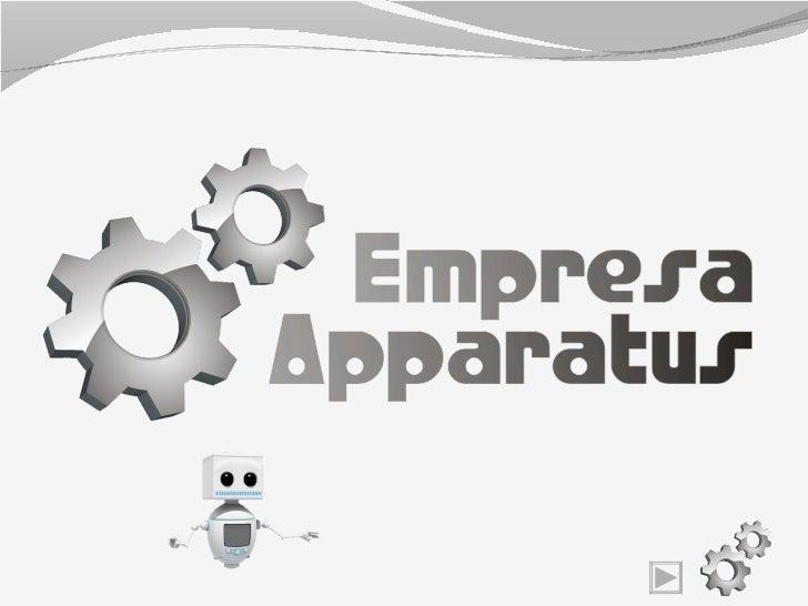 Apresentacão de APlicativos - Apparatus