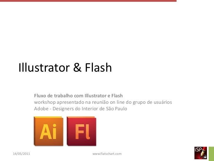 Fluxo de trabalho com Illustrator e Flash