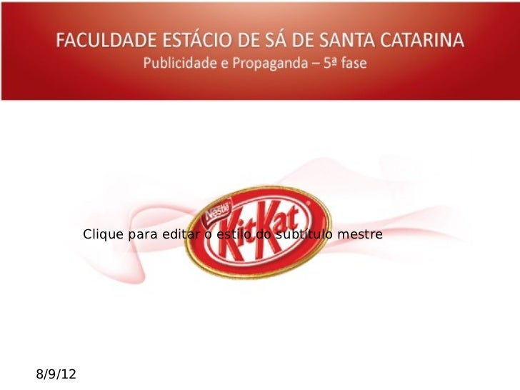 swot analysis of kitkat View 177419202-kit-kat-swot-analysis-marketing-strategies from student 1 at vietnam national university, hanoi executive summary as for this assignment, we have.