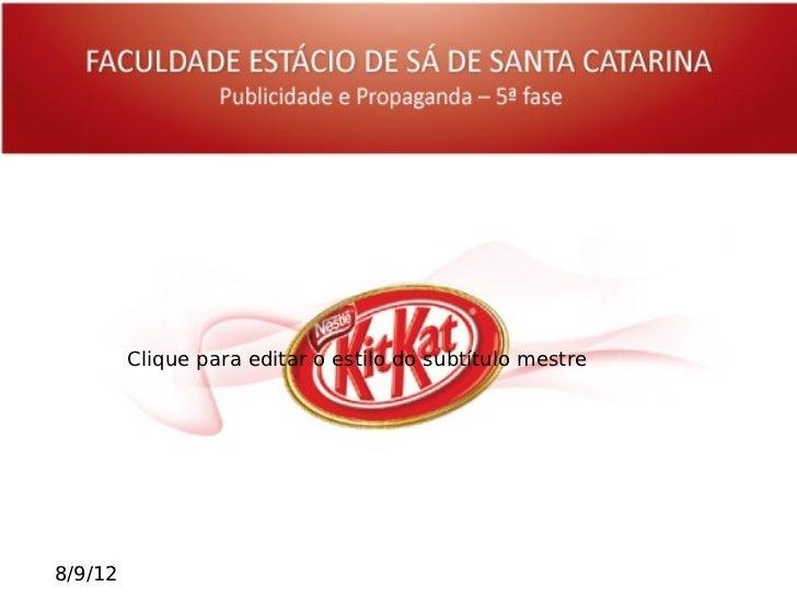Apresentacao KitKat