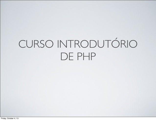 Introdução PHP + Kohana 3