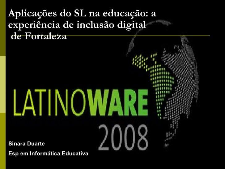 Informática Educativa e Aplicações do software livre na educação