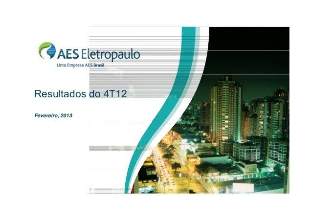 Apresentacao aes eletropaulo_4_t12_v7