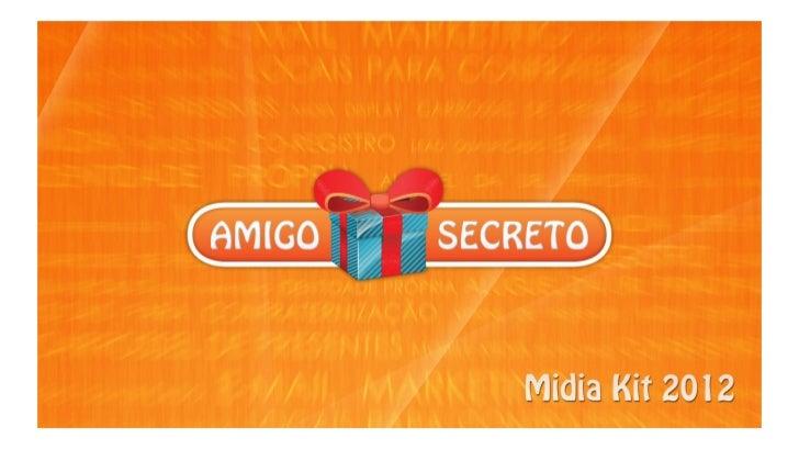 Midia Kit Amigo Secreto 2012