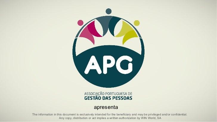 Encontro Nacional APG 2012