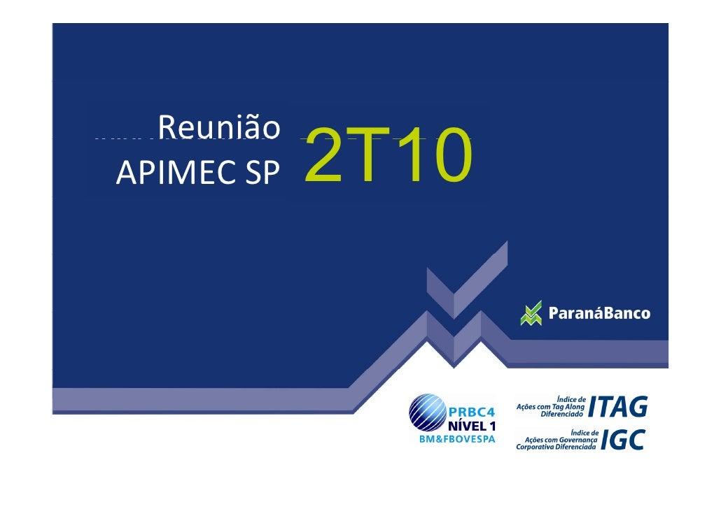 Apresentacao apimec sp_2010
