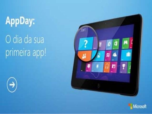 O que é o AppDay?• Vídeo