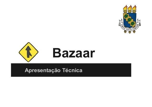 Apresentação Bazaar