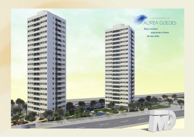 Para trazer bons ventos a sua vida, o Aurea Guedes combina a comodidade de um bairro residencial com a beleza dos pontos t...