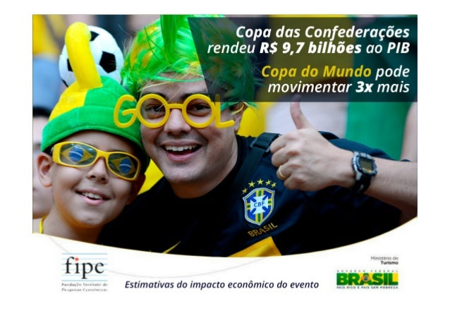 O estudo avaliou o impacto de gastos e investimentos realizados para a Copa das Confederações nas seis cidades-sede do eve...