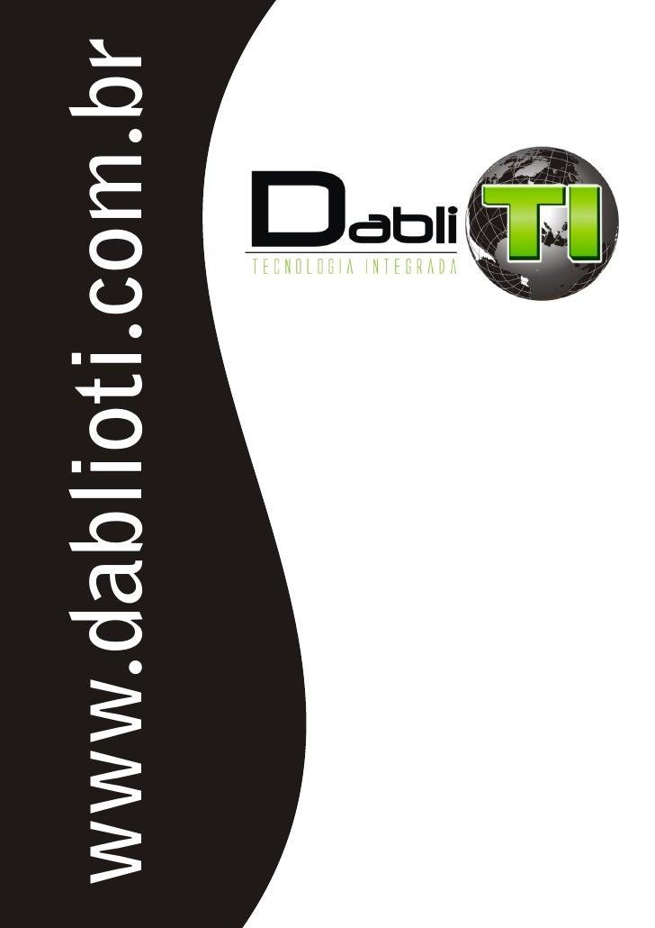 DablioTi - Apresentação Corporativa