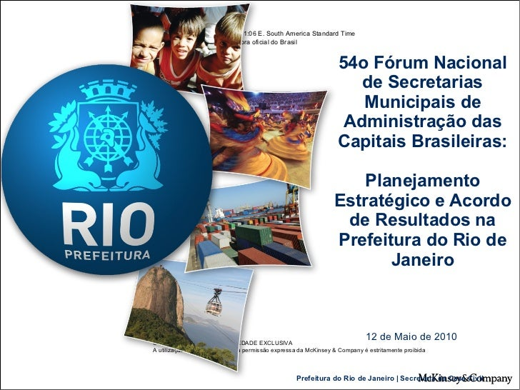 54o Fórum Nacional de Secretarias Municipais de Administração das Capitais Brasileiras: Planejamento Estratégico e Acordo ...