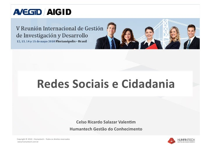 Redes Sociais e Cidadania