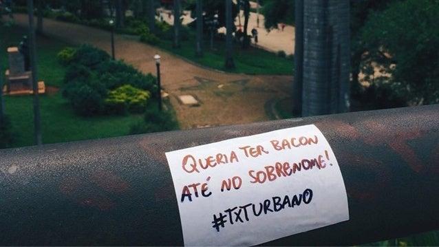 #TXTURBANO na rua