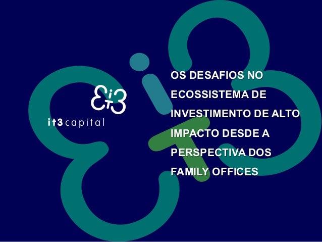 Presentation Fund IT3 Capital