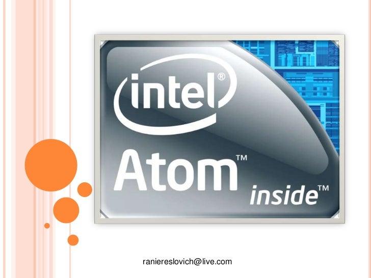 Apresentacao intel atom ver2.0