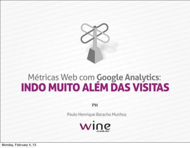 Métricas Web com Google Analytics: indo muito além das visitas