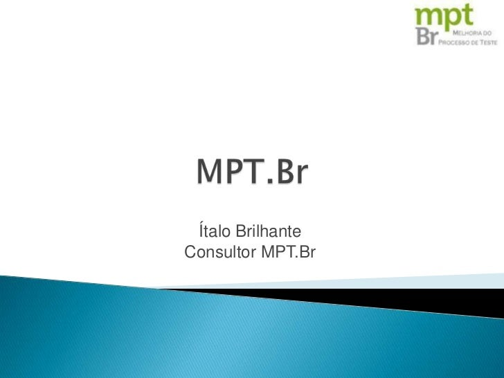 Ítalo BrilhanteConsultor MPT.Br