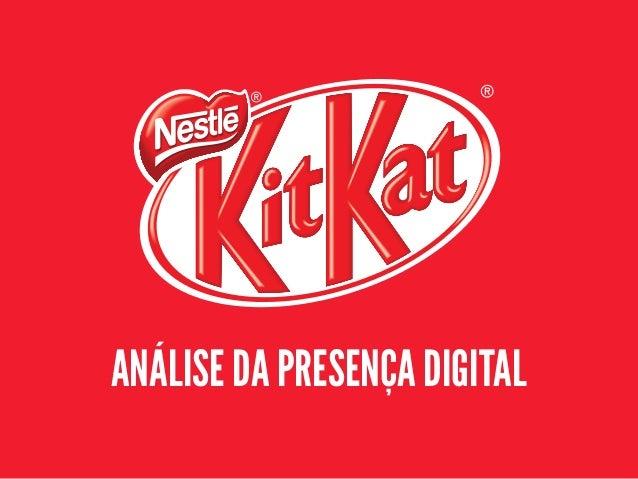 ANÁLISE DA PRESENÇA DIGITAL