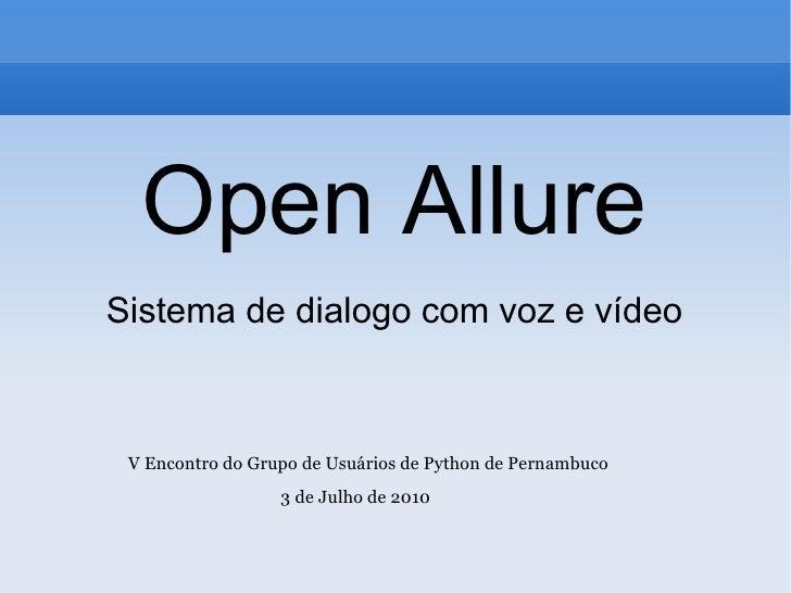 Open Allure