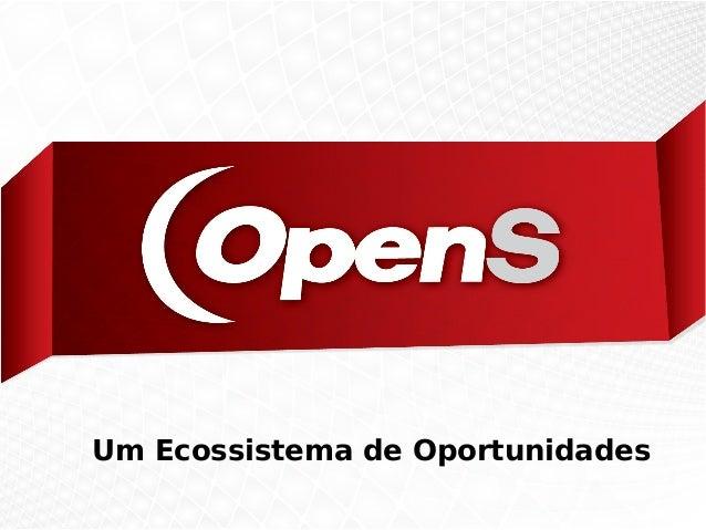 OpenS Tecnologia – Um modelo de negócios colaborativo
