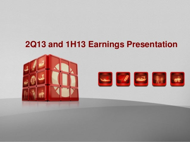 2Q13 and 1H13 Earnings Presentation