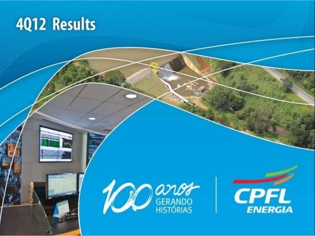 Webcast Presentation CPFL Energia_ 4Q12_final_print