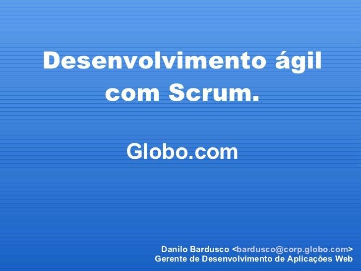 Desenvolvimento ágil de software com Scrum - XII Mostra PUC-Rio