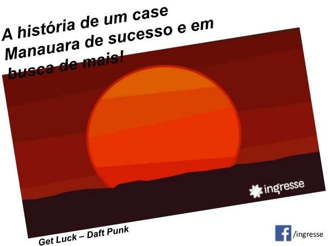 Apresentação Case da Ingresse.com para o Ciclo MPE.Net do Sebrae Amazonas - Ícaro Gaspar
