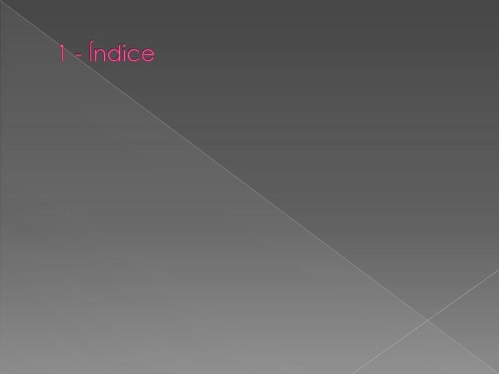 1 - Índice<br />