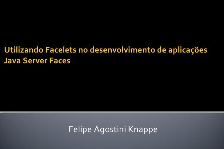 Apresentação Facelets_UNIFEI