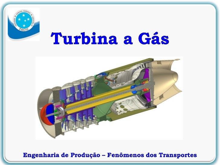 Apresentacao turbina a gás oficial