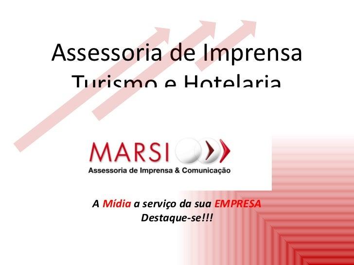 Assessoria de Imprensa para Turismo e Hotelaria