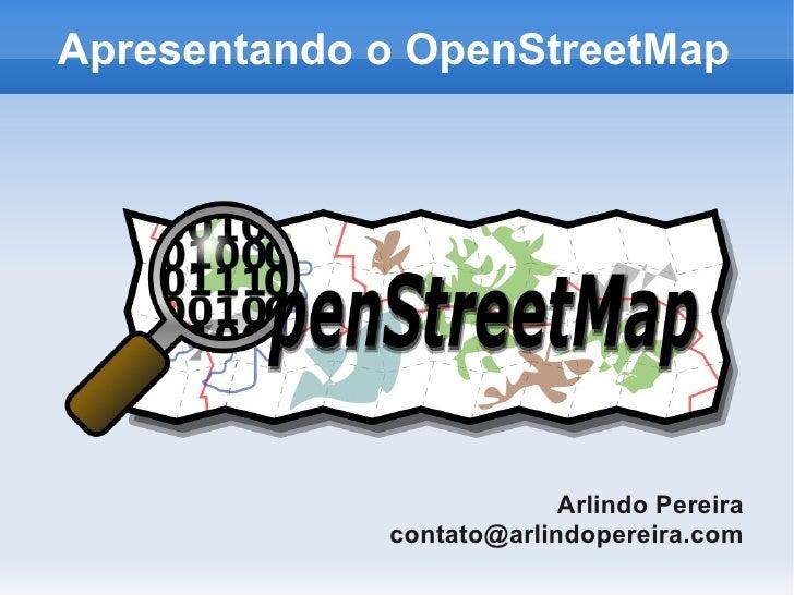 Apresentando o OpenStreetMap