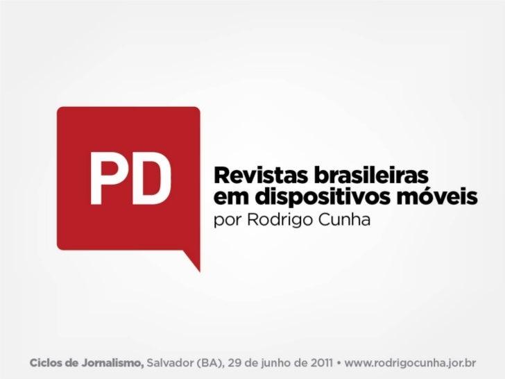 Revistas na era da mobilidade Abril Sem Fio: versão WAP, aplicativos para Palm e mensagens SMS do conteúdo das revistas d...