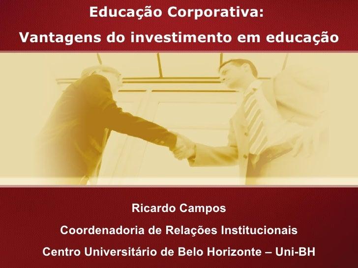 ApresentaçãO Congresso Oh! Minas Gerais