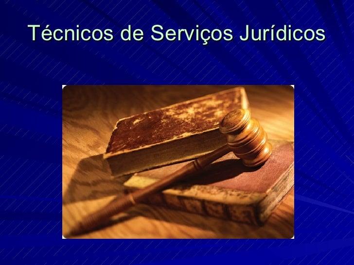 Apresentação_Curso Serviços Jurídicos