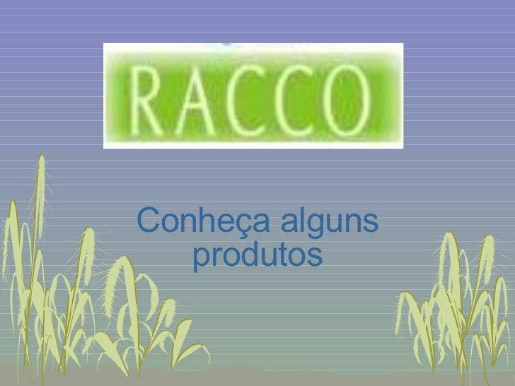 ApresentaçãO De Produtos Racco