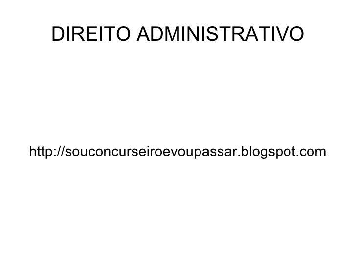 Apresentao Direito Administrativooffice2