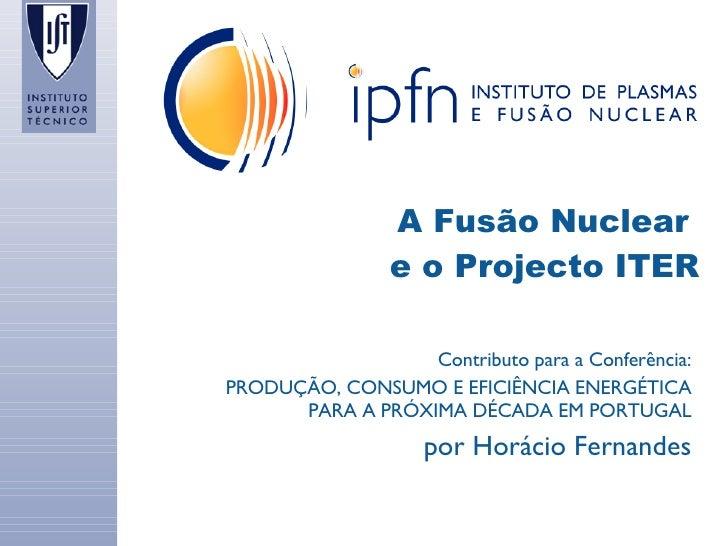 Apresentação Dr. HoráCio Fernandes