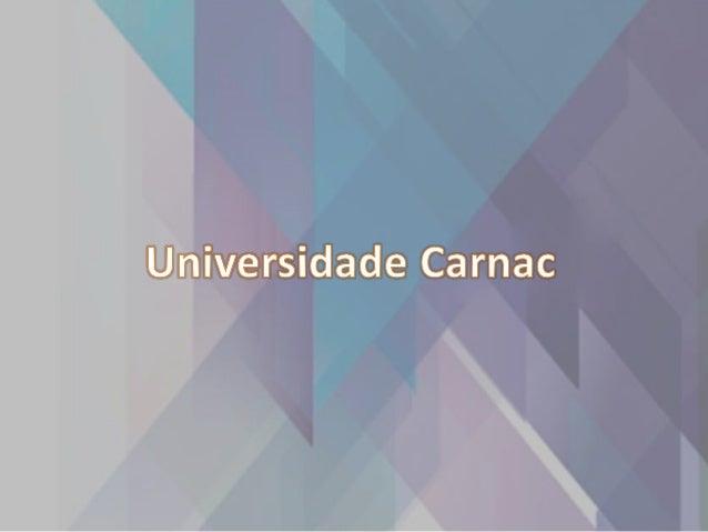 1983 - Fundação da Cede Nos campos de Carnac. 1996 - Carnac lança a primeira versão do seu site oficial. 1997- Parceria co...