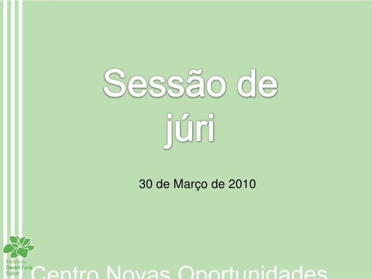 30 de Março de 2010