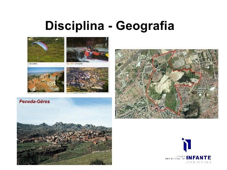 Disciplina - Geografia