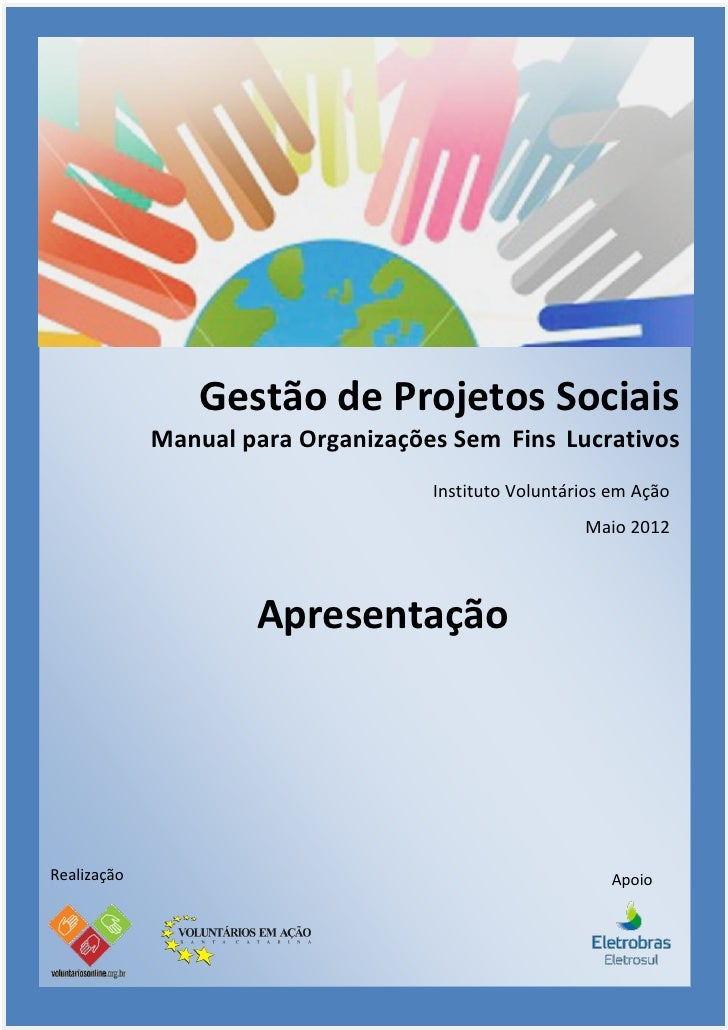 Apresentação Gestão de Projetos 2012