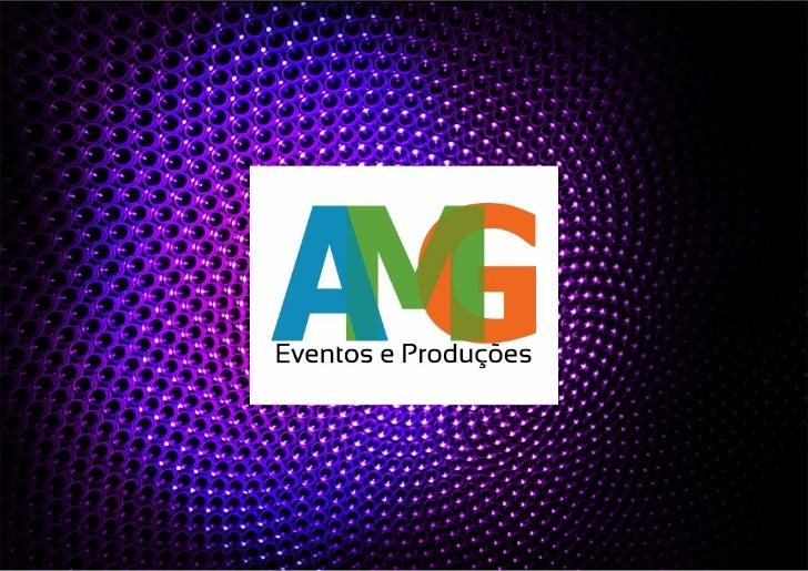 AMG - Modelo de Apresentação