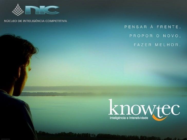 Atuação do biliotecário como profissional de inteligência competitiva: caso Knowtec