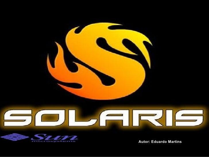 Solaris - SO-Sun