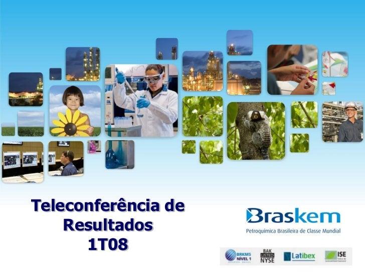 Apresentação   teleconferência de resultados 1 t08